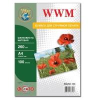 Бумага WWM A4 (SM260.100). 48696
