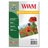 Бумага WWM 10x15 (SM260.F100). 47205