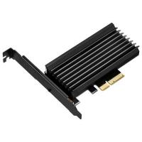Плата расширения Silver Stone PCIe x4 до SSD m.2 NVMe Heatsink (SST-ECM24). 48206