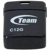 USB флеш накопитель Team 16GB C12G Black USB 2.0 (TC12G16GB01). 42032