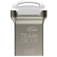 USB флеш накопитель Team 16GB C161 White USB 2.0 (TC16116GW01). 42033