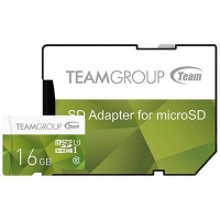 Карта памяти Team 16GB microSD Class 10 UHS-I (TCUSDH16GUHS43). 44755