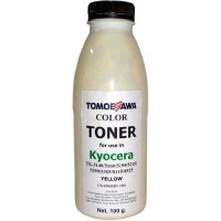 Тонер KYOCERA TK-5140/5195/5215/5305/8115 Yellow 100г Tomoegawa (TG-KM6030Y-100). 48664