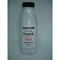 Тонер OKI UNIVERSAL, 100г Black Tomoegawa (TG-O-100B). 48673