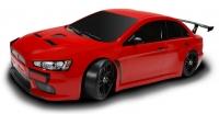 Машинка на радиоуправлении гоночная модель Шоссейная 1:10 Team Magic E4JR Mitsubishi Evolution X (красный) 29698
