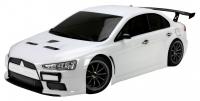 Машинка на радиоуправлении гоночная модель Шоссейная 1:10 Team Magic E4JR Mitsubishi Evolution X (белый) 29697