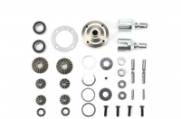 Team Magic E6 F/R Differential Set With Steel Case for BES. 30753