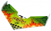 Летающее крыло на радиоуправлении TechOne Popwing 900мм EPP ARF (зеленый) 30109