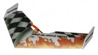 Летающее крыло на радиоуправлении TechOne Mini Popwing 600мм EPP ARF (черный) 30105