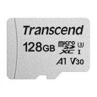 Карта памяти Transcend 128GB microSDXC class 10 UHS-I U3 A1 (TS128GUSD300S). 44763