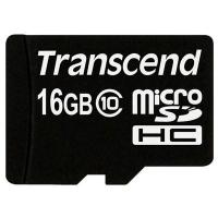 Карта памяти Transcend 16Gb microSDHC class 10 (TS16GUSDC10). 44764