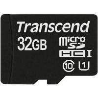 Карта памяти Transcend 32Gb microSDHC Class10 UHS-I (TS32GUSDCU1). 44772