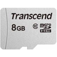 Карта памяти Transcend 8GB microSDHC class 10 UHS-I (TS8GUSD300S). 44779