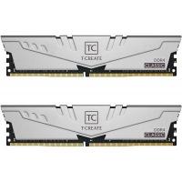 Модуль памяти для компьютера Team DDR4 16GB (2x8GB) 2666 MHz T-Create Classic 10L Gray (TTCCD416G2666HC19DC01). 42976