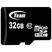 Карта памяти Team 32GB microSD class 10 (TUSDH32GCL1002). 48305