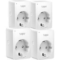 Умная розетка TP-Link Tapo P100 (4-pack) (Tapo P100(4-pack)). 47786
