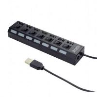 Концентратор 7 port USB 2.0 Gembird (UHB-U2P7-03). 41790
