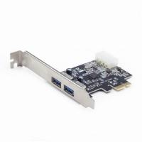 Контроллер PCIe to USB Gembird (UPC-30-2P). 46392