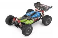 Машинка на радиоуправлении вездеход модель 1:14 багги WL Toys 144001 4WD (зеленый) 29661