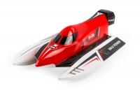 Катер бесколлекторный на радиоуправлении модель WL Toys WL915 F1 High Speed Boat (красный) 30166