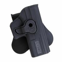 Кобура Cytac для Glock 19/23/32 вращающаяся ц:черный. 23702150