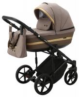 Детская коляска 2 в 1 с люлькой и прогулочная для новорожденных трансформер Adamex Rimini Tip RI-15. 31089