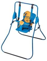 Качель детская домашняя напольная Умка Casper  синий-желтый. 30991