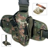 Кобура Leapers UTG Special Ops Universal камуфляж Woodland Digital. 23700541