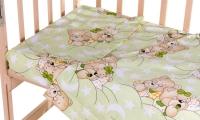 Сменный комплект Qvatro Gold SG-03 рисунок  салатовая (мишки спят). 34717