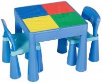 Детский стол и 2 стульчика Tega Mamut 899B light blue-blue. 31034