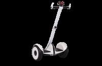 """Гироскутер с ручкой для детей и взрослых Monorim M1Robot Ninebot mini 10,5"""" (Music Edition) - Hand Drive PRO White (Белый). 31173"""