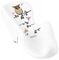 Горка для купания Tega Owl (Plus Baby) PB-SOWA-003 нескользящая 103 white. 33145