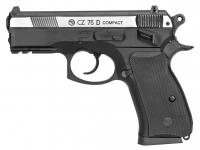 Пистолет пневматический ASG CZ 75D Compact. Корпус - металл. 23702521