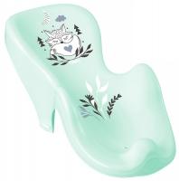 Горка для купания Tega Little Fox (Plus Baby) PB-LIS-003 нескользящая 105 light green. 33141