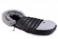 Зимний конверт Cottonmoose Alaska Premium 729/65/107/142 gray (черный-серый). 33500