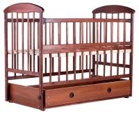 Детская кровать Наталка ОТМЯО маятник и ящик, откидной бок (в коробке)  ольха темная. 31015