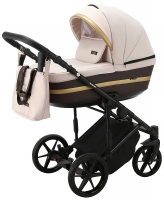 Детская коляска 2 в 1 с люлькой и прогулочная для новорожденных трансформер Adamex Rimini Tip RI-84. 31099