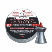 Пули пневматические (для воздушки) 6,35мм 1,645г (150шт) JSB Polymag. 14530562