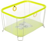 Манеж Qvatro Солнышко-02 мелкая сетка  желтый (panda). 34237