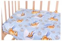 Сменный комплект Qvatro Gold SG-03 рисунок  голубой (мишка лежит, пчелки). 34706