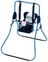 Качель детская домашняя напольная Умка Casper  т.синий-белый. 30993