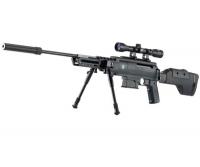 Винтовка пневматическая, воздушка Norica Black OPS Sniper + прицел 4x32 + сошки. 16651181