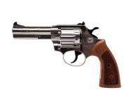 Револьвер под патрон Флобера Alfa mod.441 никель/дерево. 14310049