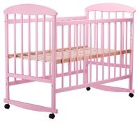 Кровать Наталка ОР  ольха розовая. 34117