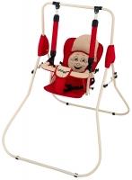 Качель детская домашняя напольная Babyroom Casper  красный-св.бежевый. 30936
