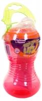 Поилка Tommee Tippee Tip it UP от 6-ти мес. (300ml)  голубой, розовый и салатовый. 34653