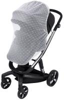 Москитная сетка для коляски Bair Electra для прогулочной коляски  белая. 34325