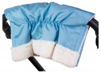 Муфта Умка M02 для рук на коляску  голубой. 34377