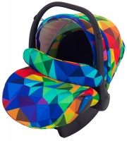 Автокресло детское Adamex Kite Y123 разноцветный калейдоскоп. 30878