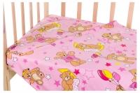Сменный комплект Qvatro Gold SG-03 рисунок  розовый (мишки с шариками). 34713